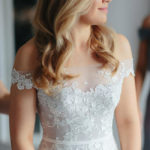 Channeling the chic simplicity of classic bridal style, Vdressy's new ball gown wedding dress