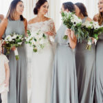 Ideally, you can start ordering your bridesmaid dresses about three or four months before the wedding