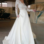 These designer plus-size wedding dresses from Vdressy