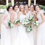 White bridesmaid dresses,ivory bridesmaid dresses and related wedding decorations will make your wedding more perfect